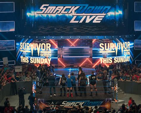 A FREAK ACCIDENT: 'WWE SmackDown' in Wilkes-Barre, fake