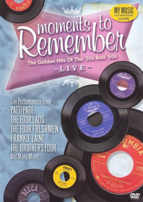 Moments to Remember: The Golden Hits of the '50s and '60s