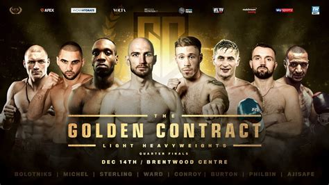 The Golden Contract – FIGHTEVENTS