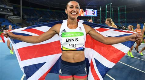 Ennis-Hill is Britain's greatest female track and field
