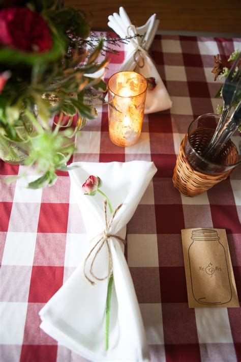 Red, White, and Blue Wedding Ideas {Rustic} | Every Last