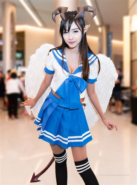 Beautiful Cosplay Girls at Thailand Game Show 2016 in