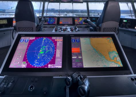 Electronic Chart Display and Information System-ECDIS-Ship