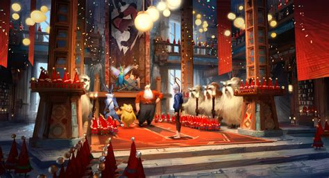 North's Workshop | Rise of the Guardians Wiki | FANDOM