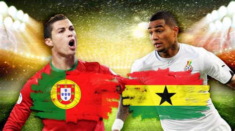 Ghana vs Portugal, Starting Lineups and World Cup Open