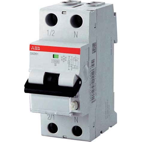 Circuit Breaker Switch Differential DS201 C10 A30 1P+N