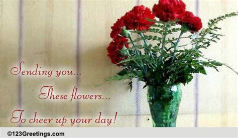 Cheer Up Someone's Day! Free Cheer Up eCards, Greeting