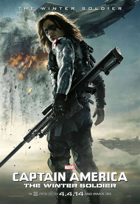 Captain America 2's The Winter Soldier Gets His Own Poster