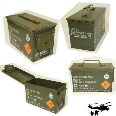 Original Ammunition Box? with Gasket Metal Box Container