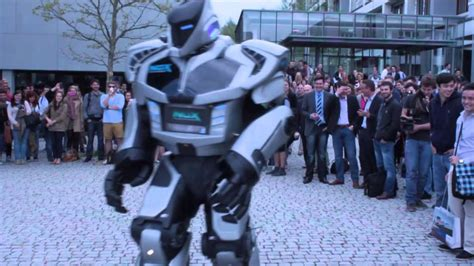 Robot dance: NOX the Robot at the 20th X-Day - YouTube
