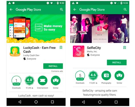 Play Store: Google entfernt 500 Android-Apps mit 100