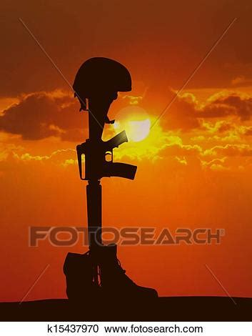 Stock Illustrations of Fallen Soldier k15437970 - Search