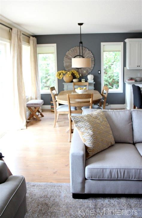 Modern country or farmhouse style open concept dining room