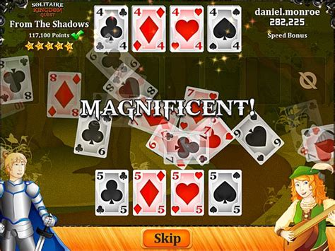 Solitaire Kingdom Quest > iPad, iPhone, Android, Mac & PC