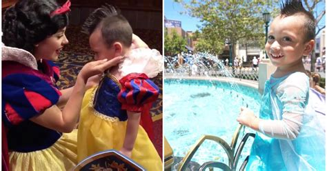 4-year-old boy with autism wears dresses, befriends