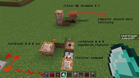 minecraft commands - Check if player has item, if so