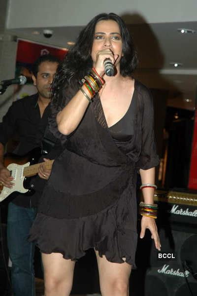 Sona Mohapatra performs during the DVD launch of the movie