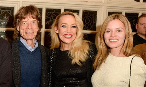Mick Jagger supports Jerry Hall in new theater role