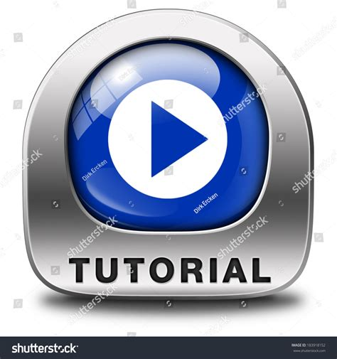 Tutorial Icon Learn Online Video Lesson Or Class, Website