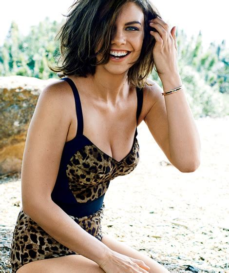 """""""Walking Dead"""" Star Lauren Cohan Gets Sexy Makeover for GQ"""