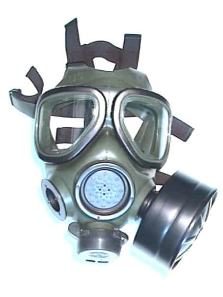3M FR-M40 US Military Surplus Gas Mask including new