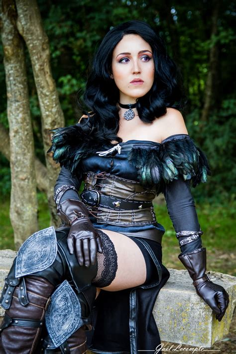 Yennefer of Vengerberg from Witcher 3 (alternative clothes