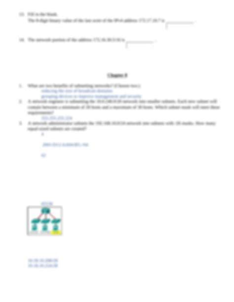 What is the subnet address for the IPv6 address