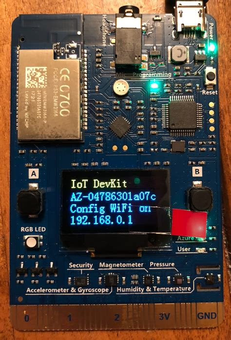 Tip 96 - Getting up and started with Azure IoT MXChip