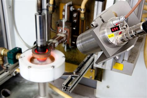 Temperature monitoring during induction hardening - Mepca