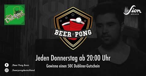 Party - Beer Pong Night - The Dubliner in Bonn - 15