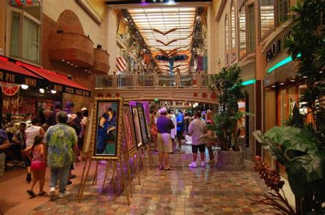 Freedom of the Seas Deck 5 Shops