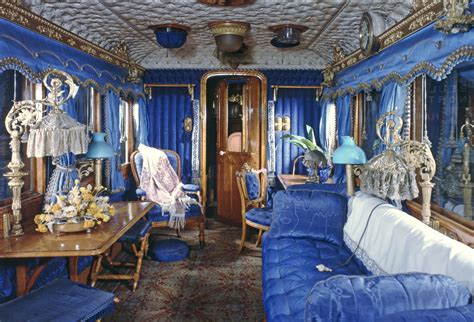 Extraordinary photographs from inside the Royal Train