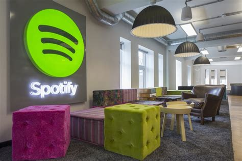 Spotify Offices - London - Office Snapshots