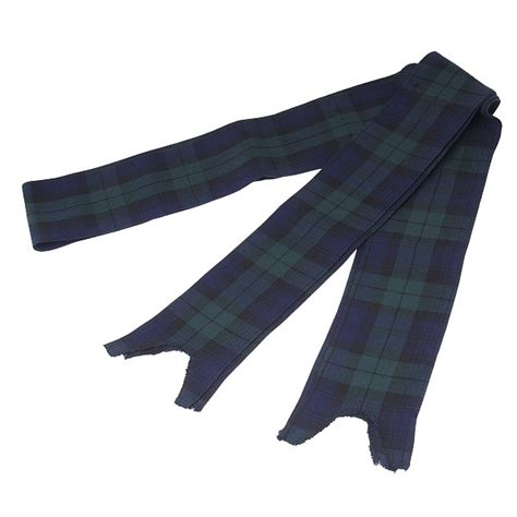 Black Watch Piper's Bagpipe Ribbons   Kilts & More