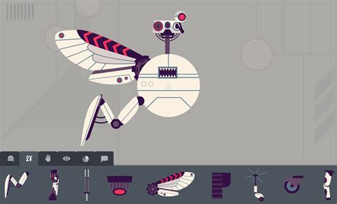 Robot Factory educational app for creative kids by Tinybop