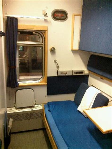 Our Cabin On The Night Train From Stockholm To Kiruna