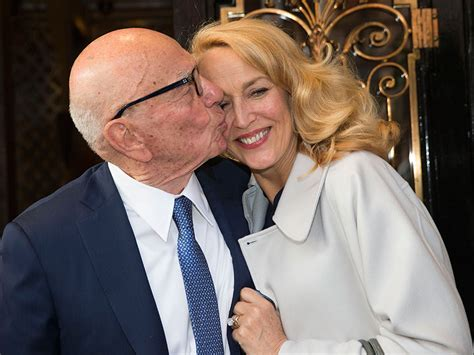 Rupert Murdoch and Jerry Hall's Entire Family Poses For