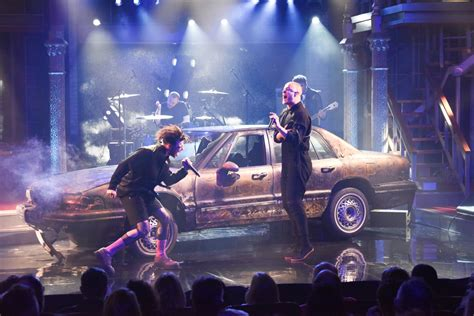 """Yungblud & Dan Reynolds Perform On """"Late Show With Stephen"""