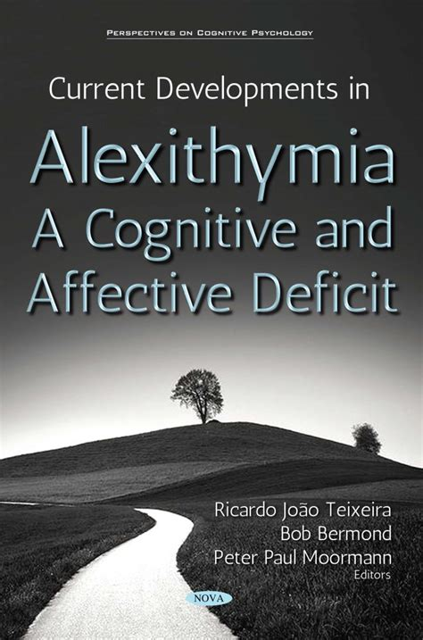 Current Developments in Alexithymia - A Cognitive and