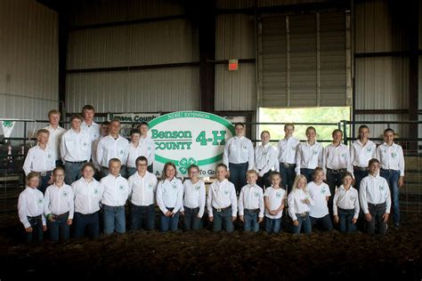 4H Clubs — Benson County Extension