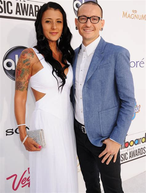 Chester Bennington's Wife Breaks Silence After His Suicide