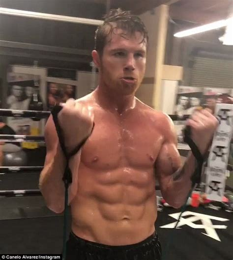 Canelo shows off incredible physique ahead of Gennady