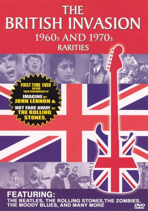 The British Invasion: The 1960's and 1970's - Various