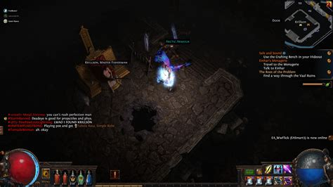 First Krillson of the Betrayal League? : pathofexile